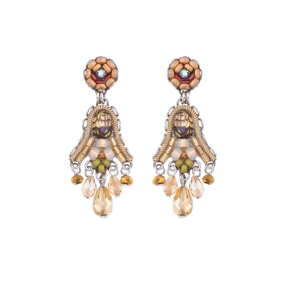 Shifthing Sands, Sandy Earrings Gold AyalaBar