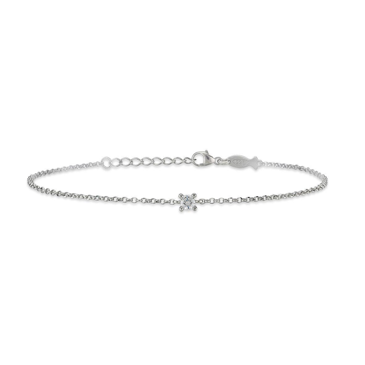 Glint, sterling silver bracelet Silver Kurshuni