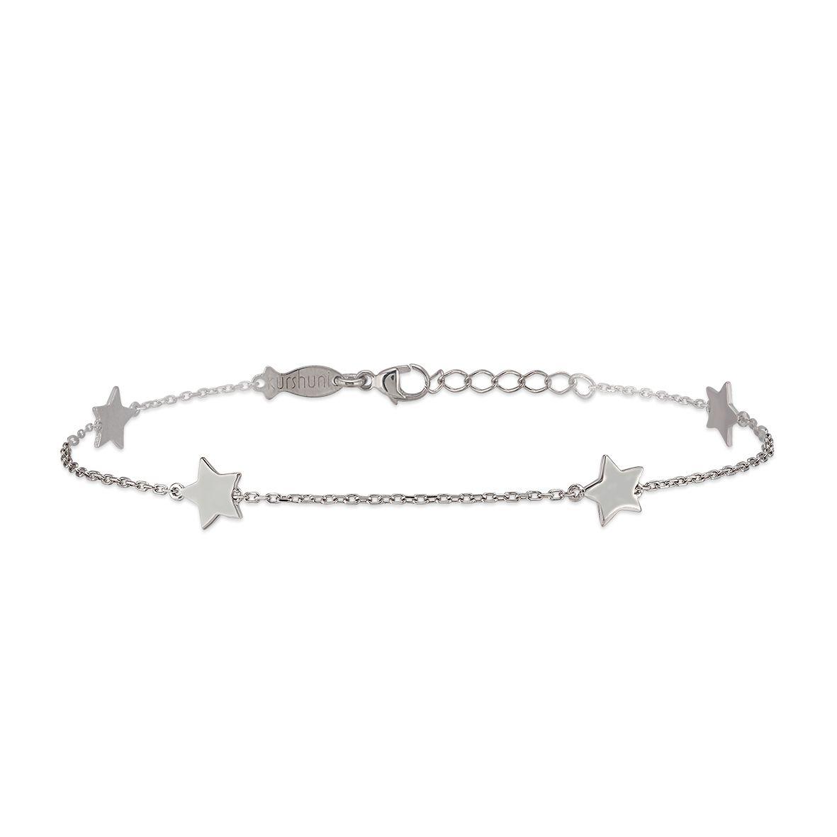 Andromeda, sterling silver bracelet Silver Kurshuni