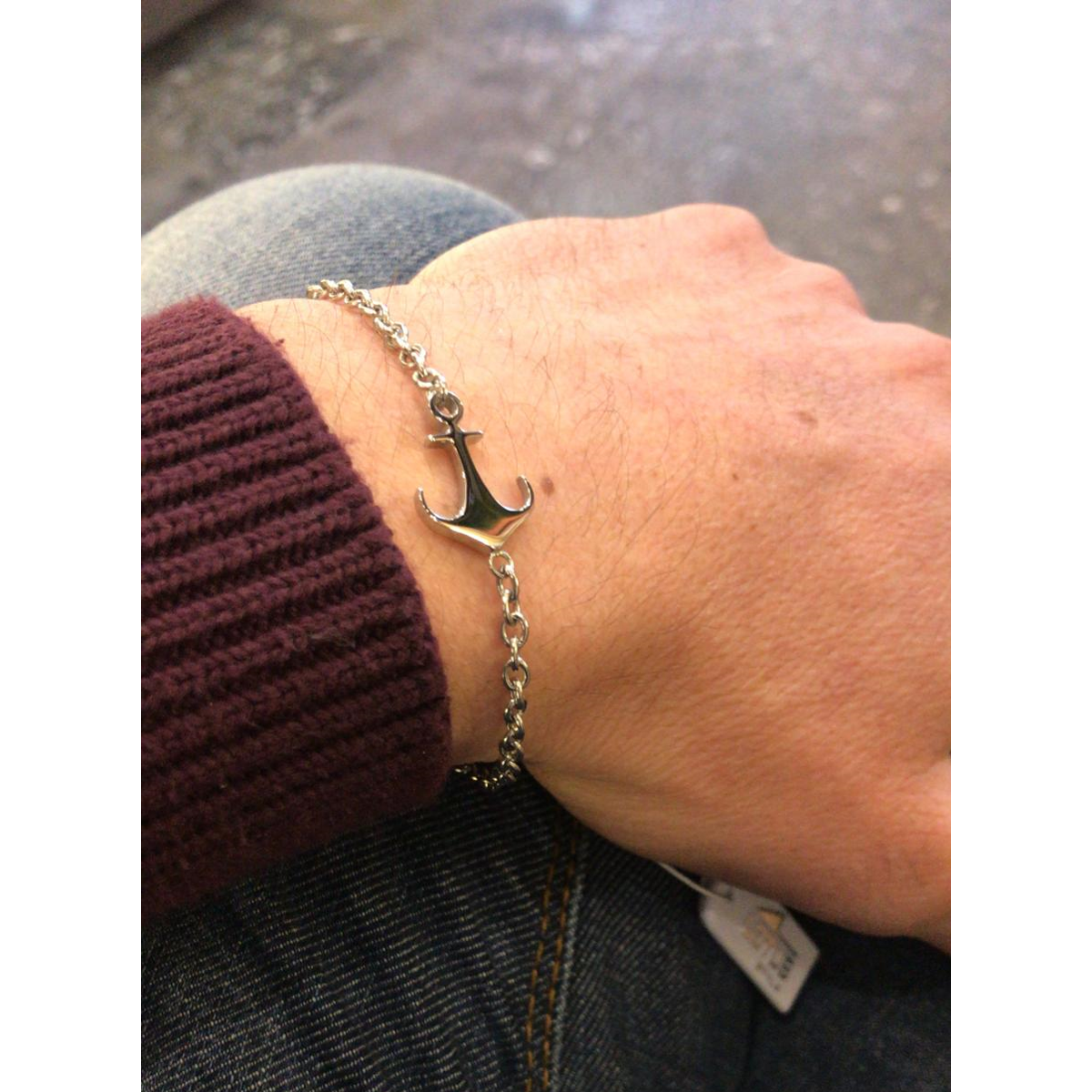 MEN ANCHOR BRACELET LS1995-2/1 Steel LOTUS Style