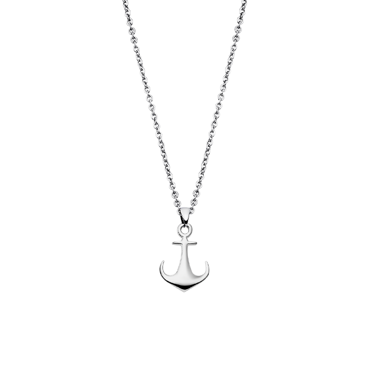 ANCHOR NECKLACE LS1995-1/1 Steel LOTUS Style