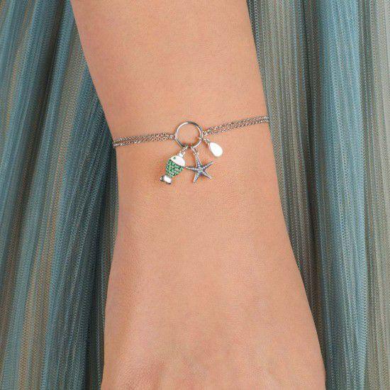 Gipsy Sea, sterling silver bracelet Silver Kurshuni