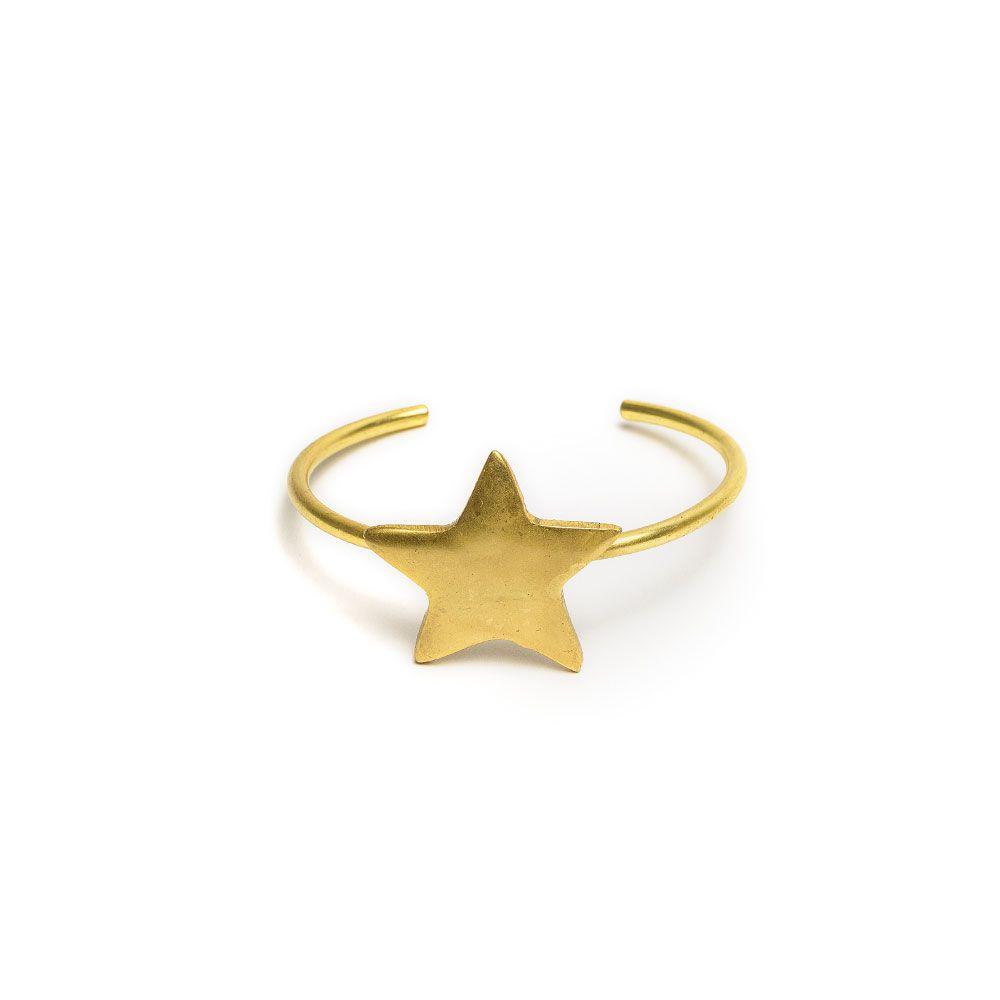 Rounded star bracelet Gold VestoPazzo