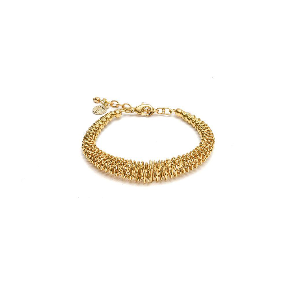 Flexible bracelet Gold VestoPazzo