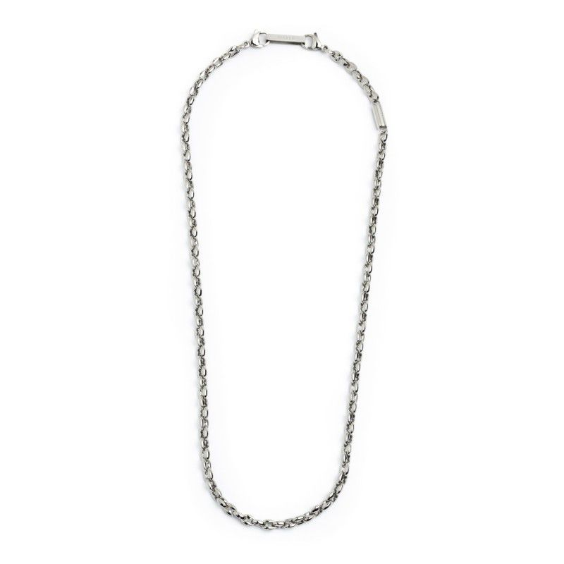 Marine chain steel necklace Steel Marlù