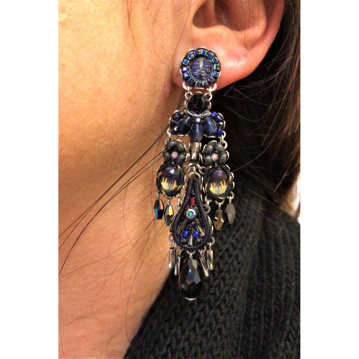 Maui Rock, Mailey Earrings Blue AyalaBar
