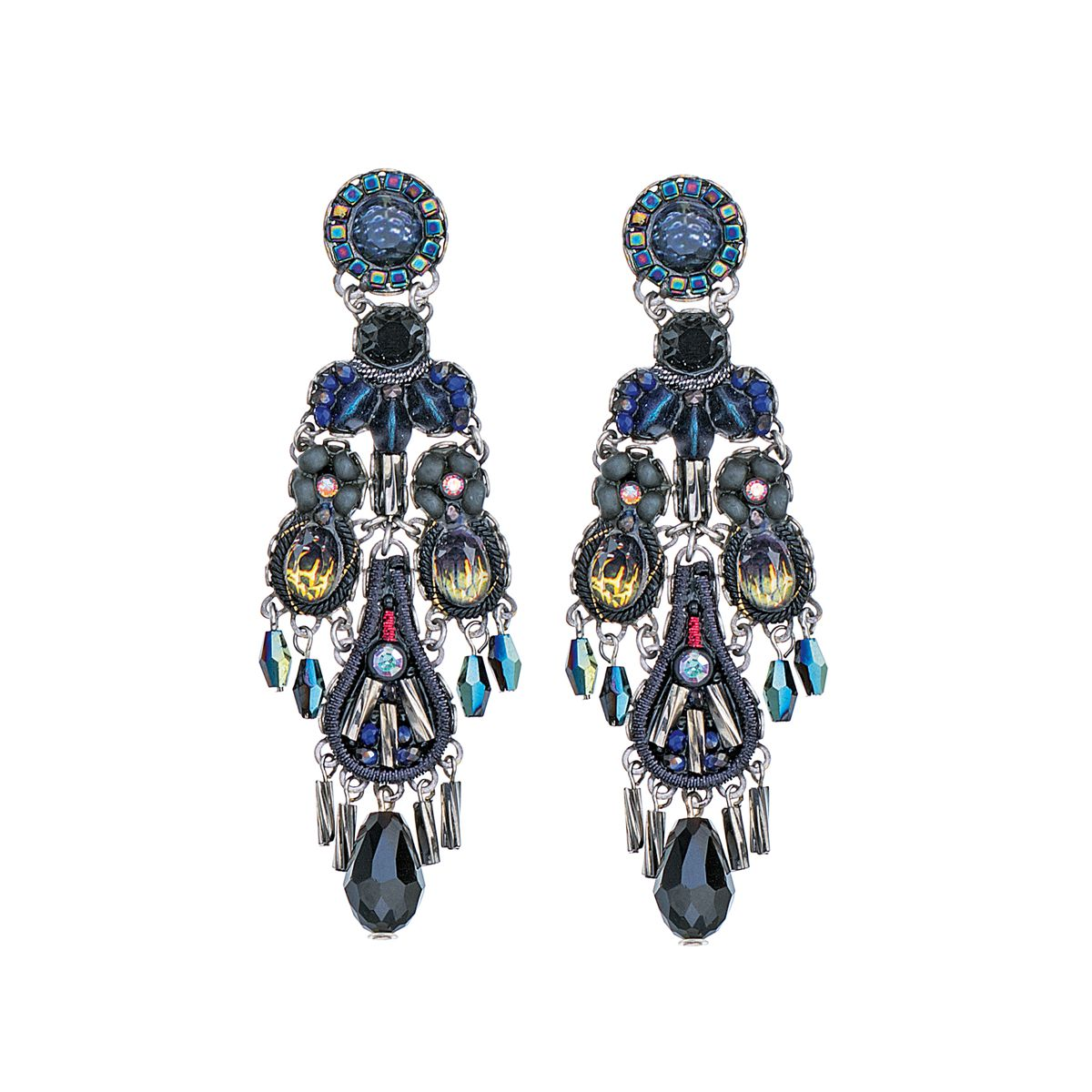 Maui Rock, Mailey Earrings Blue AyalaBar