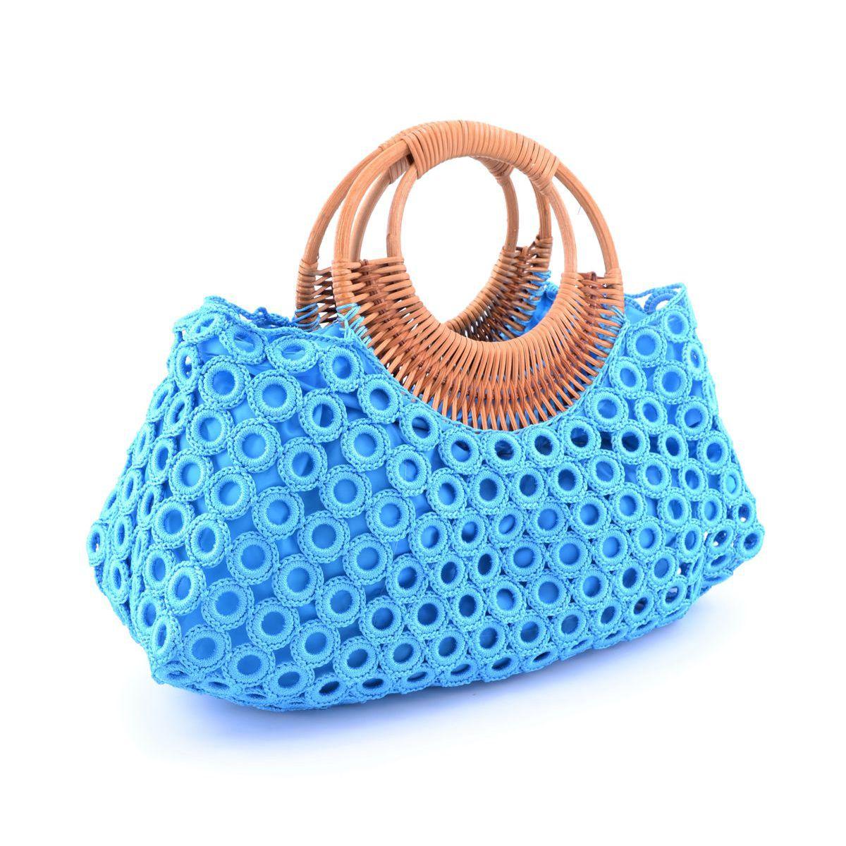 Ana bag Light blue BRASS Workshop