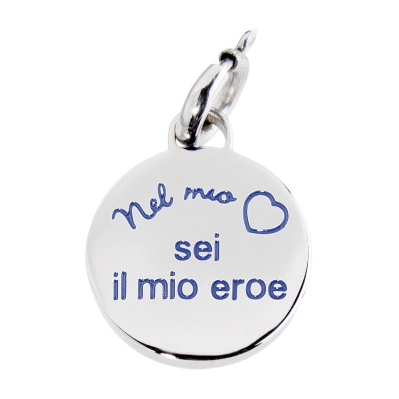 """You are my hero"" Charm Steel Marlù"