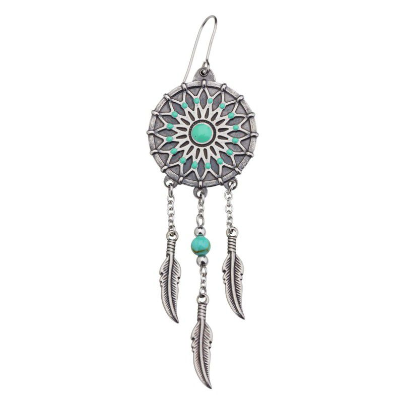 Dream catcher, single earring Burnished Marlù