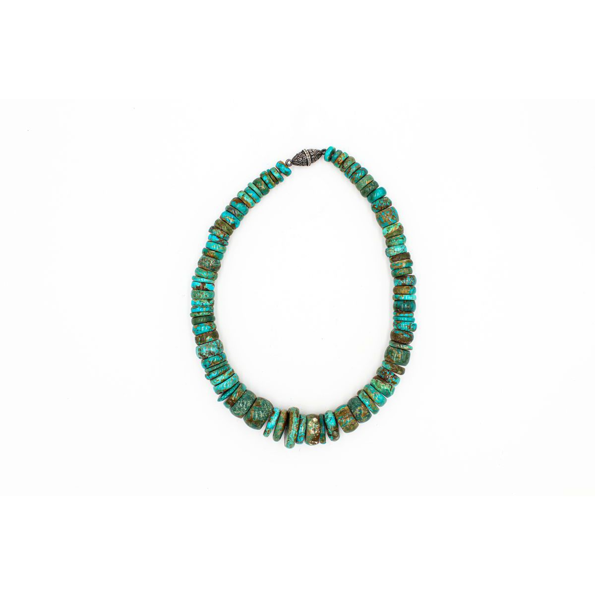 Mexico Turquoise Choker Turquoise BRASS Gioielli
