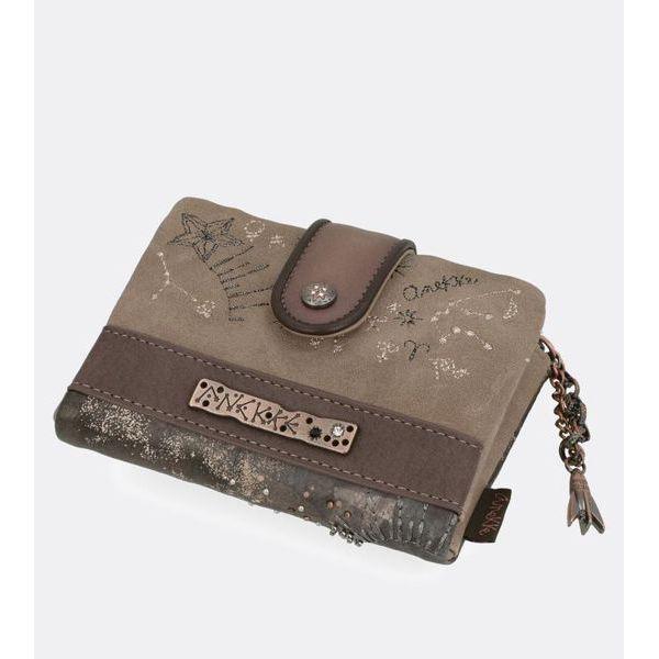 Anekke wallet 07-910UNC Brown BRASS Workshop