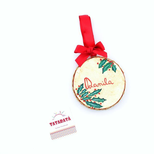 Nomination, Christmas Ball Tambourine Gold Tataratà Bijoux