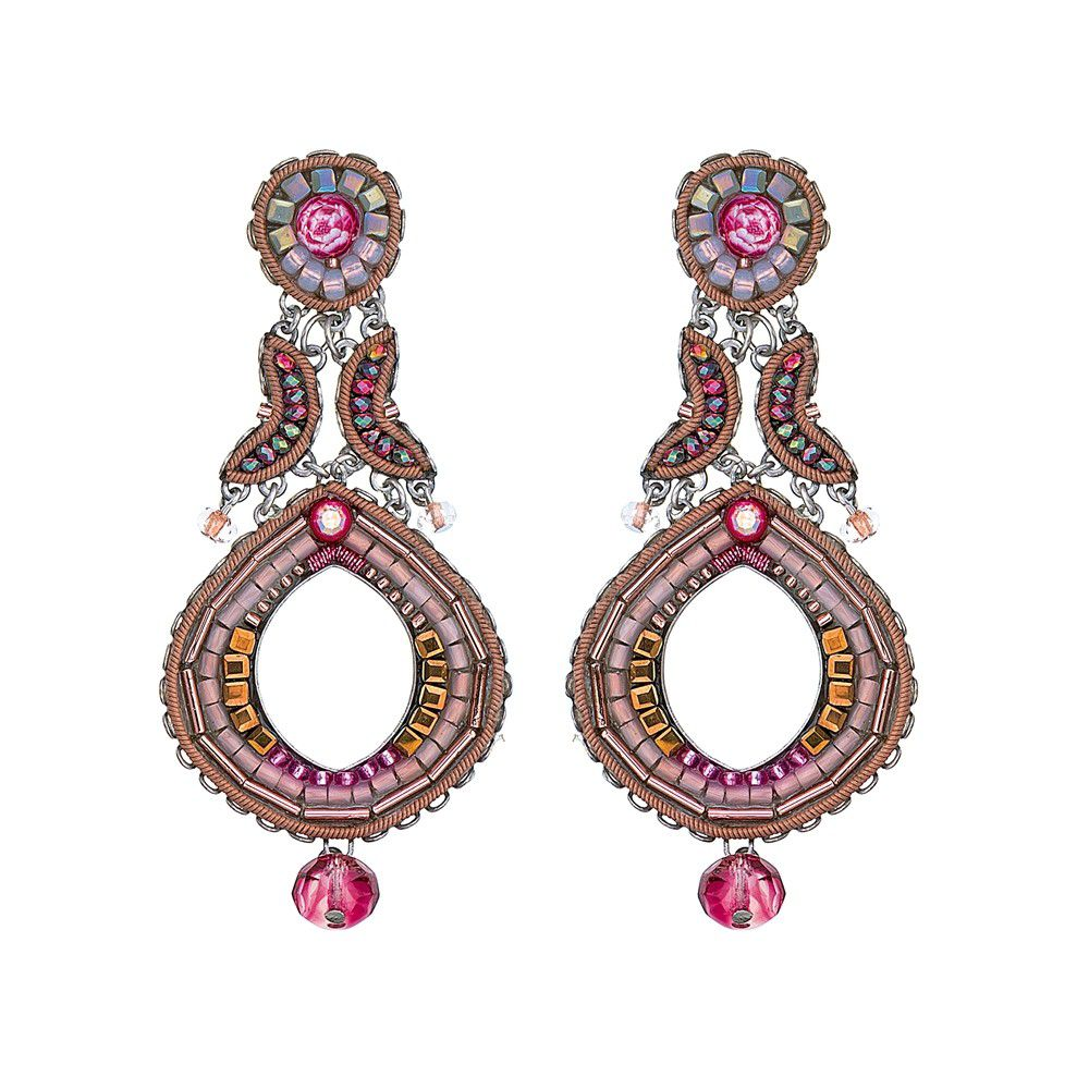 Secret Cave, Ruby Earrings Pink AyalaBar