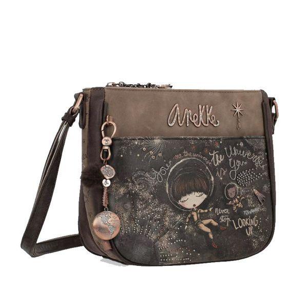 1. Shoulder strap Anekke 03-012UNC Brown Anekke
