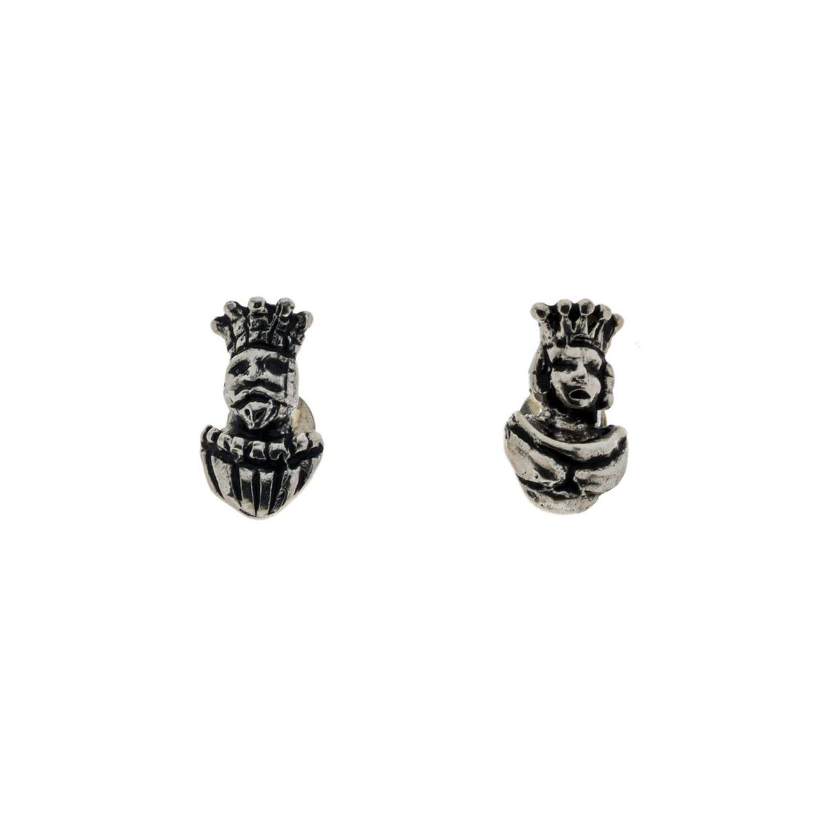 1. Tarot silver earrings J-E205 Silver GIULIANAdiFRANCO