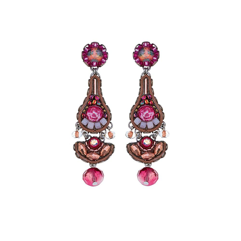 Secret Cave, Emma Earrings Pink AyalaBar