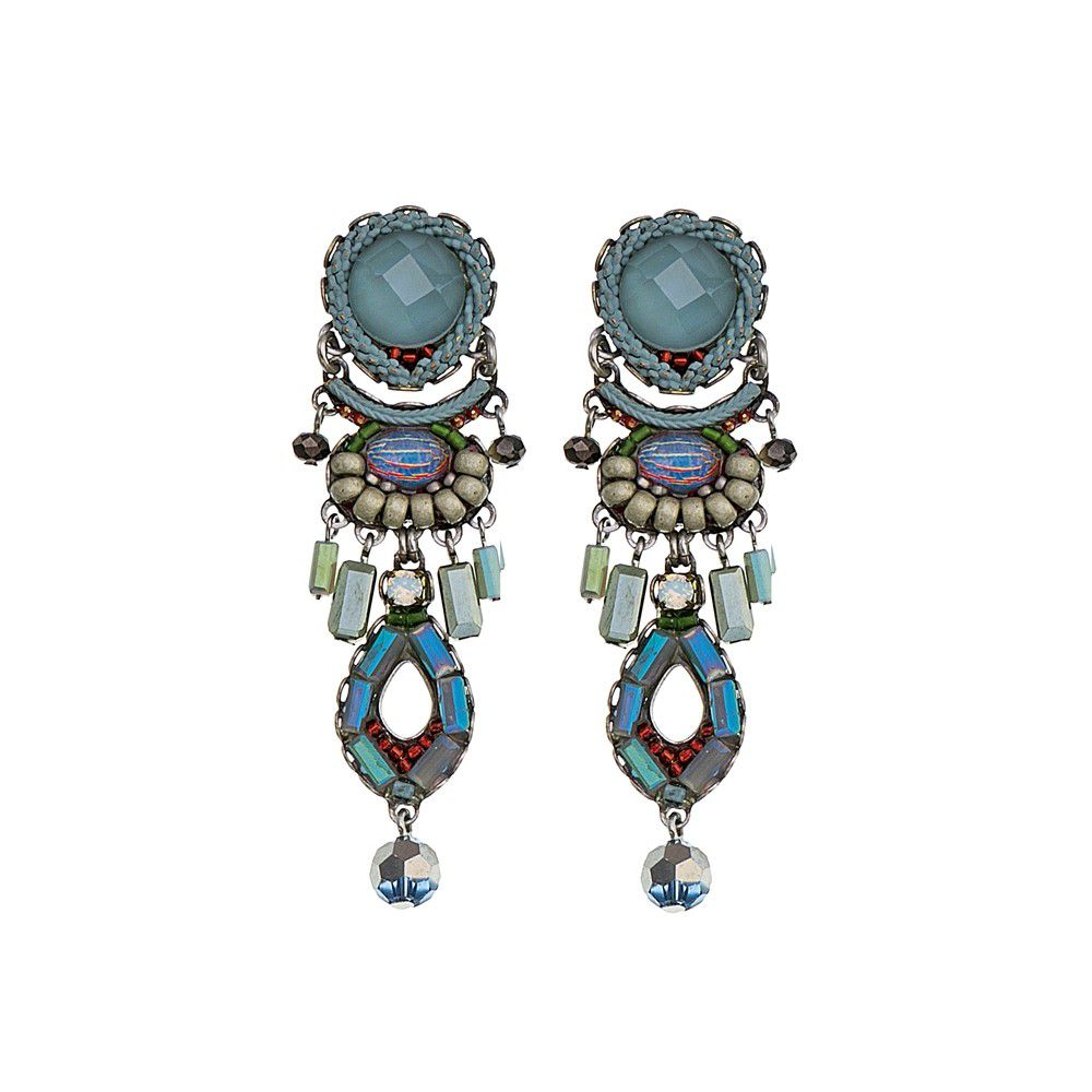 Blue Skies, Brooklyn Earrings Turquoise AyalaBar