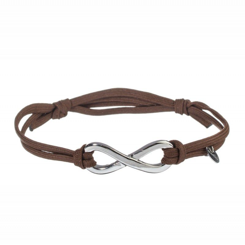 INFINITE BROWN BRACELET Brown Marlù