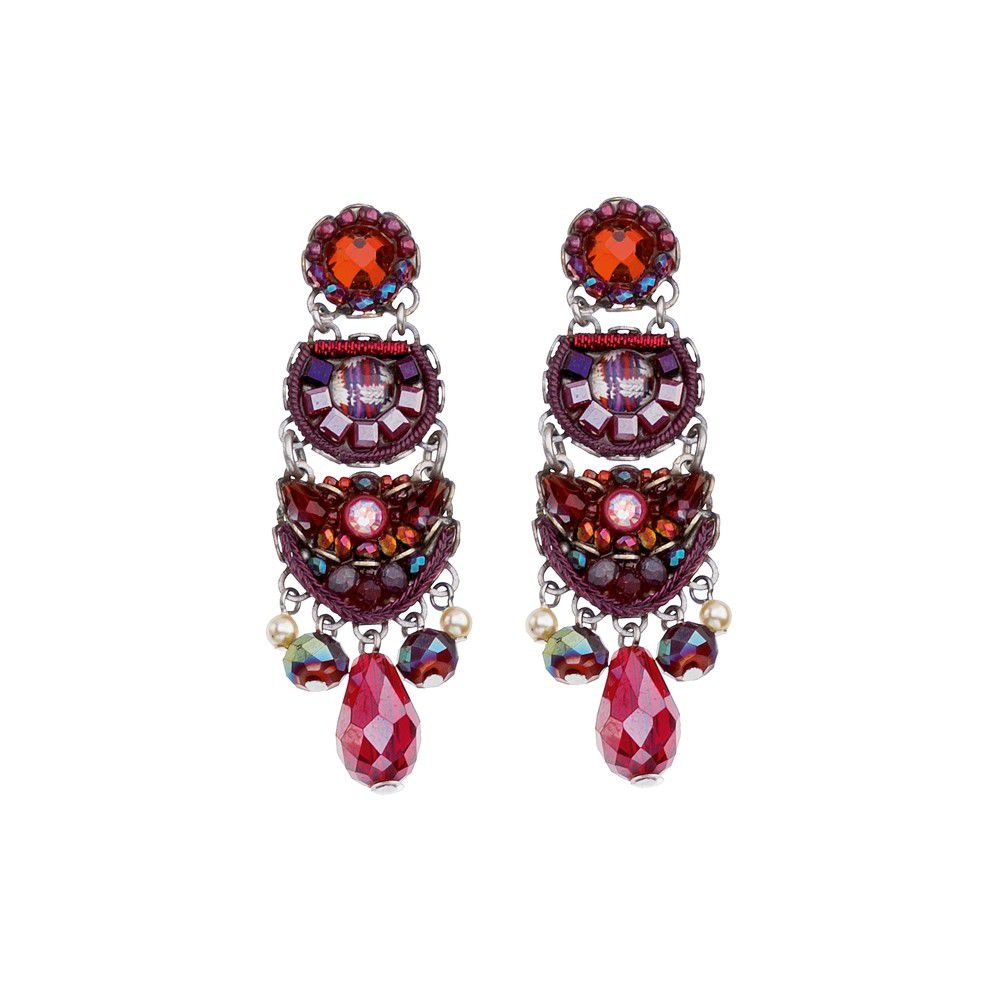 Ruby Tuesday, Fayre Earrings Bordeaux AyalaBar