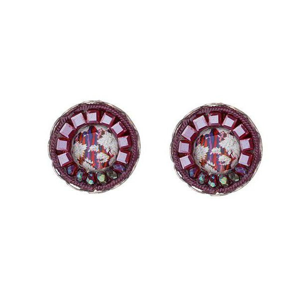 Ruby Tuesday, Isa Earrings Bordeaux AyalaBar