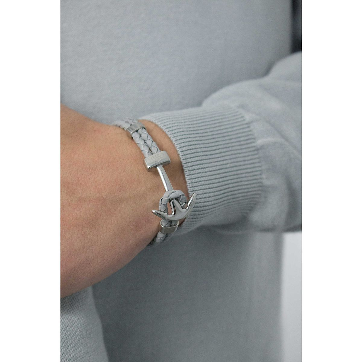 ANCHOR MAN BRACELET LS1832/2/3 Grey LOTUS Style