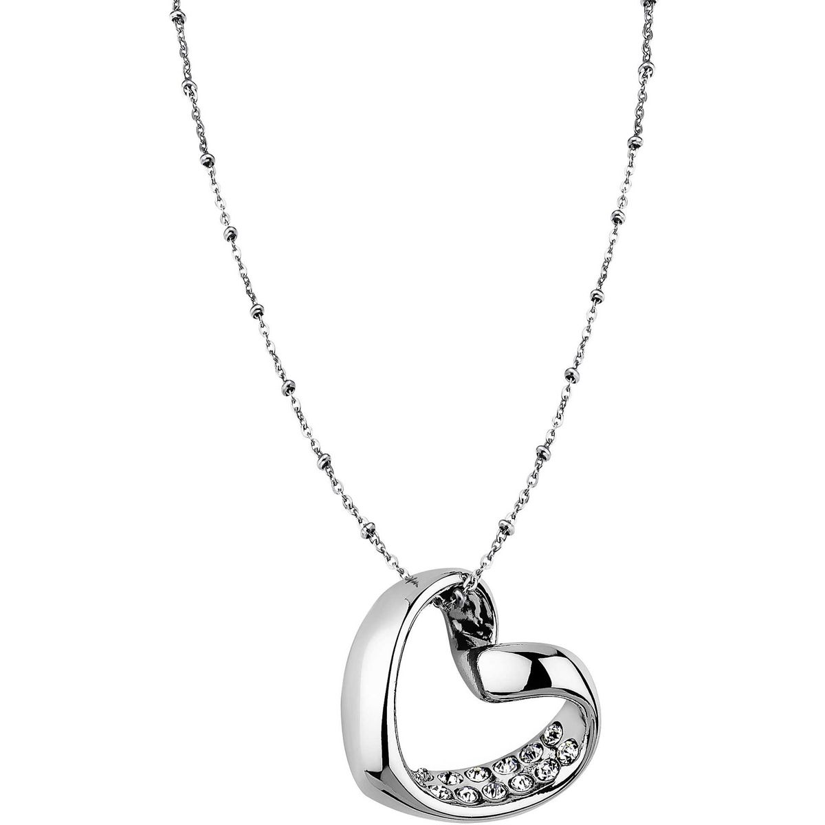 HEART NECKLACE Z Steel LOTUS Style