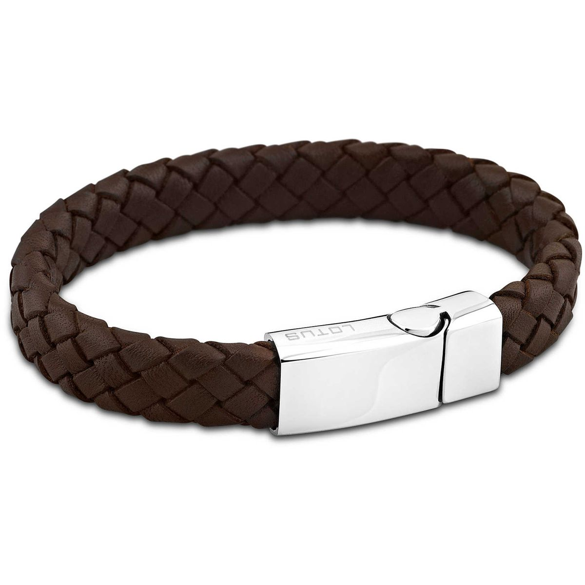 BROWN BRACELET MAN LS1380-2/1 Brown LOTUS Style