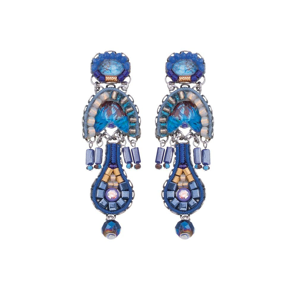Sapphire Rain, Maor Earrings Blue AyalaBar