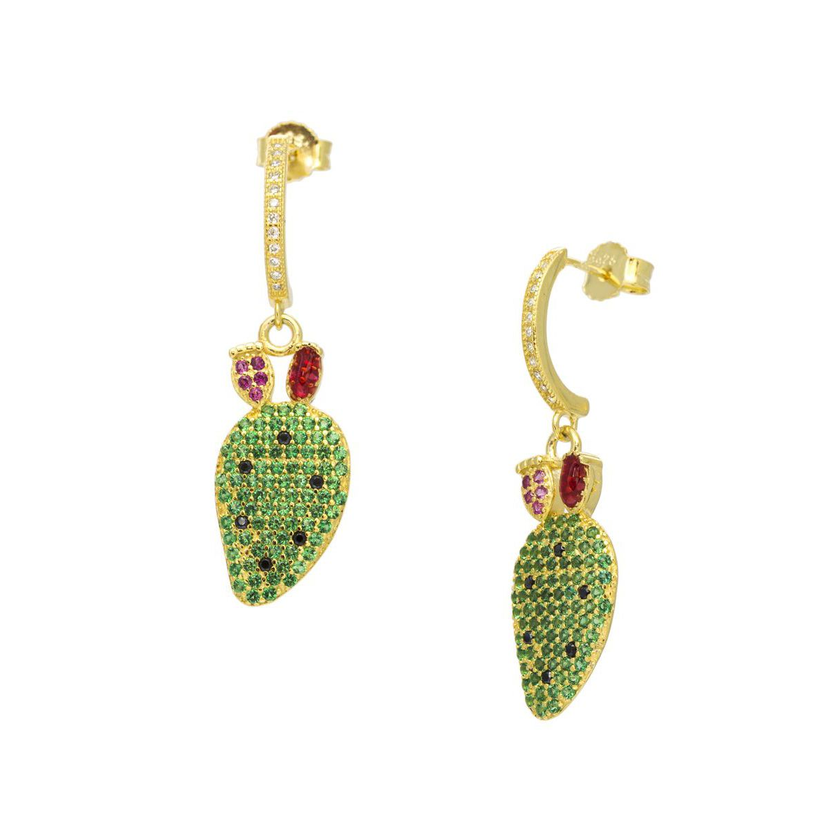 FIG SHOVEL EARRINGS GOLD Gold M'AMI SICILY JEWELS