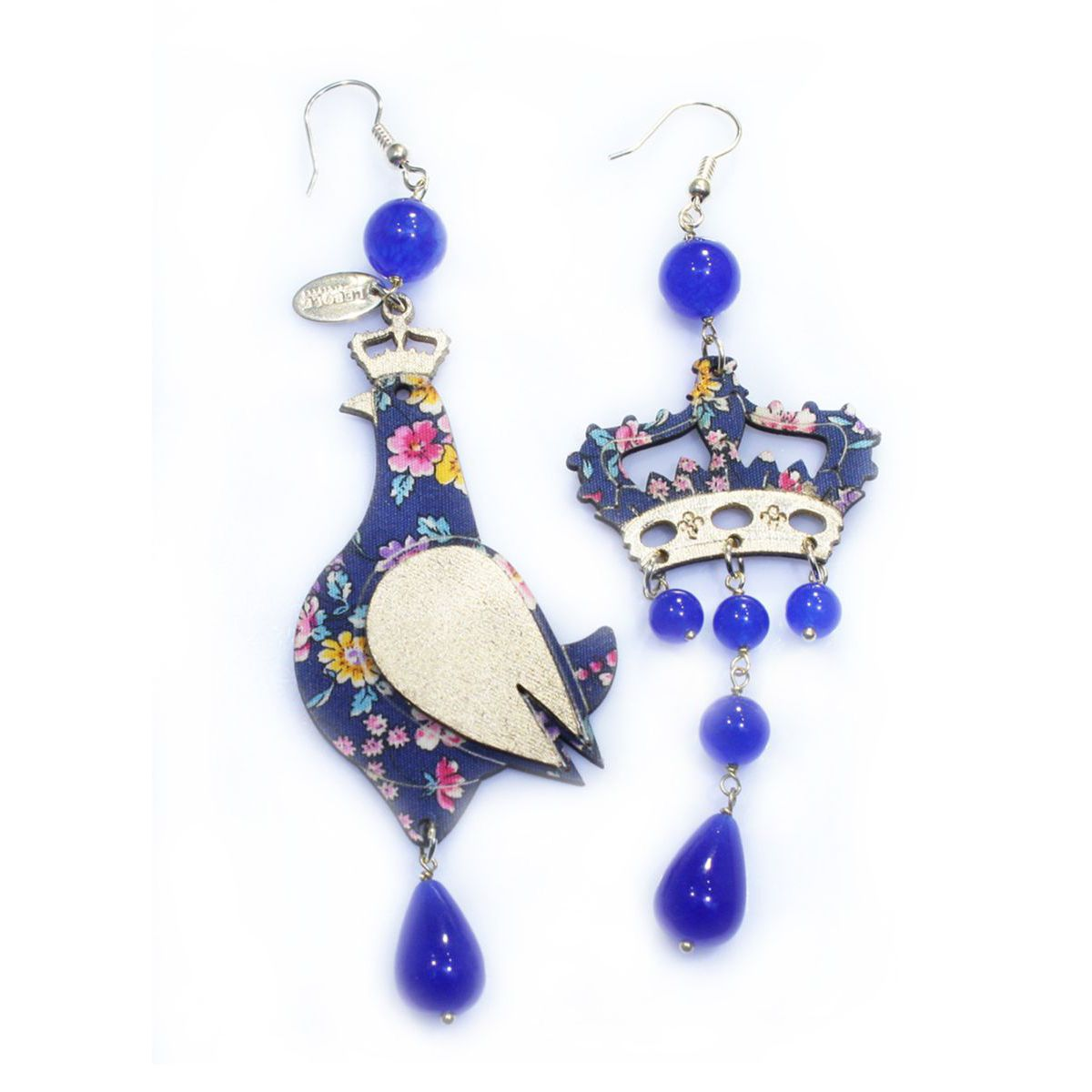 REGALINA BLUE EARRINGS Blue LEBOLE GIOIELLI