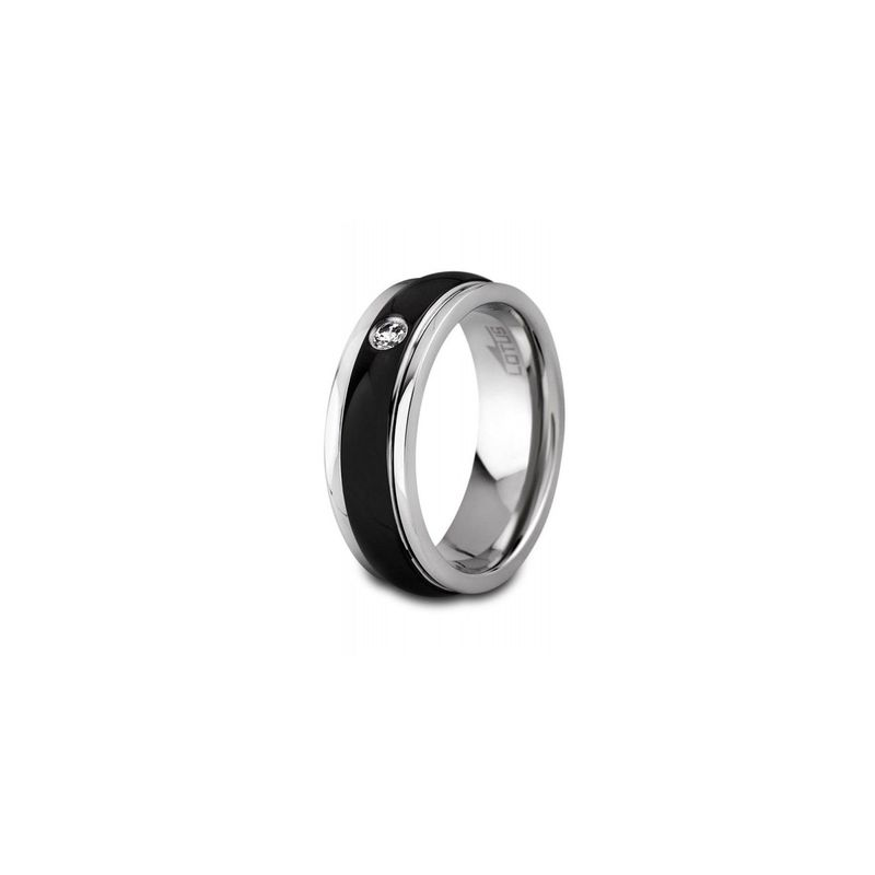 MAN RING LS1424 Black LOTUS Style