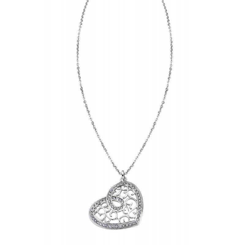 HEART NECKLACE LS1668 Steel LOTUS Style