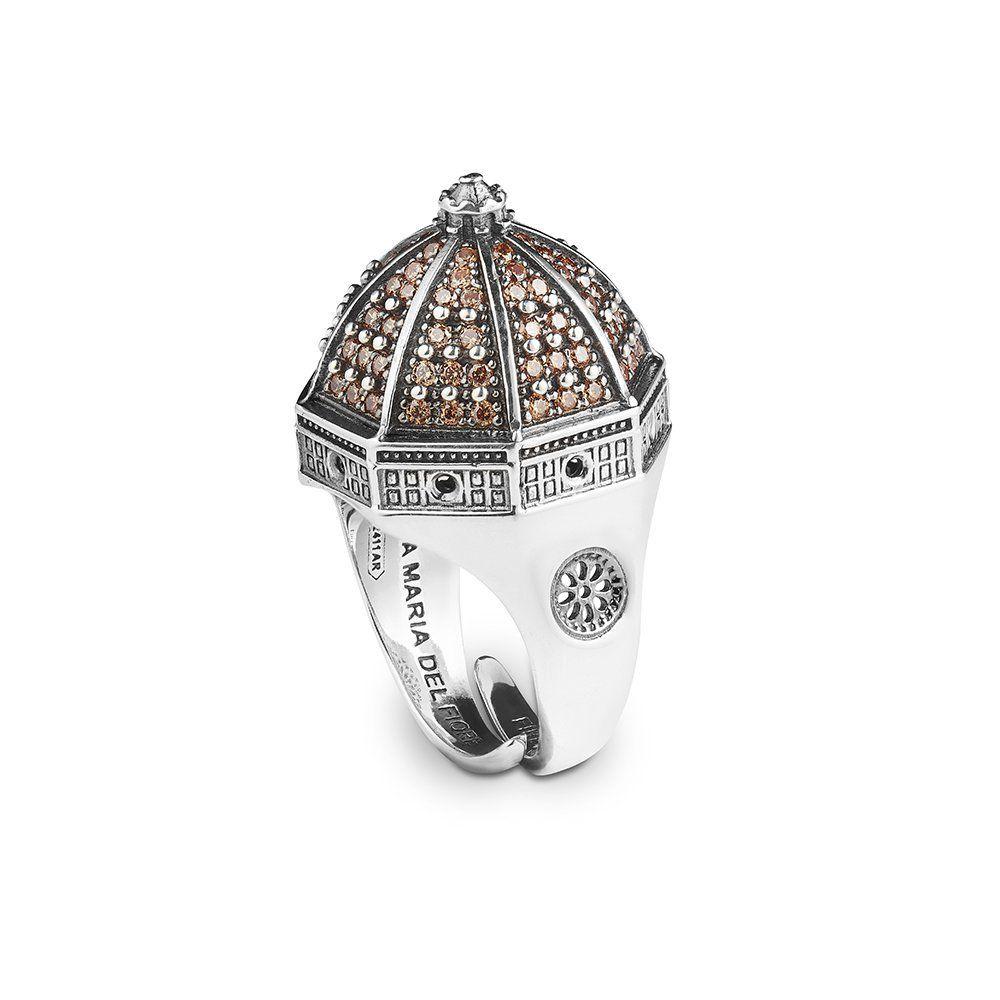 S.MARIA DEL FIORE IN FIRENZE RING Brunished ELLIUS Jewelry