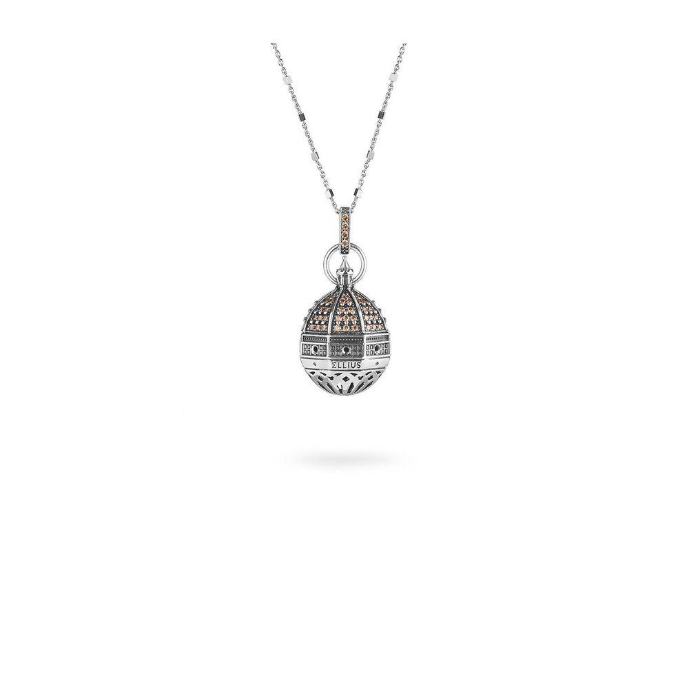 S. MARIA DEL FIORE IN FIRENZE NECKLACE Brunished ELLIUS Jewelry
