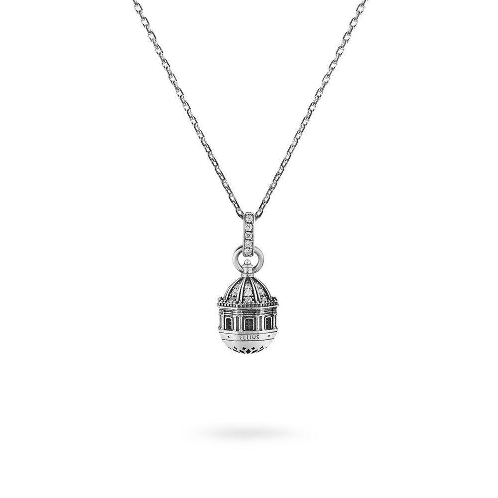 BADIA S. AGATA IN CATANIA NECKLACE Brunished ELLIUS Jewelry