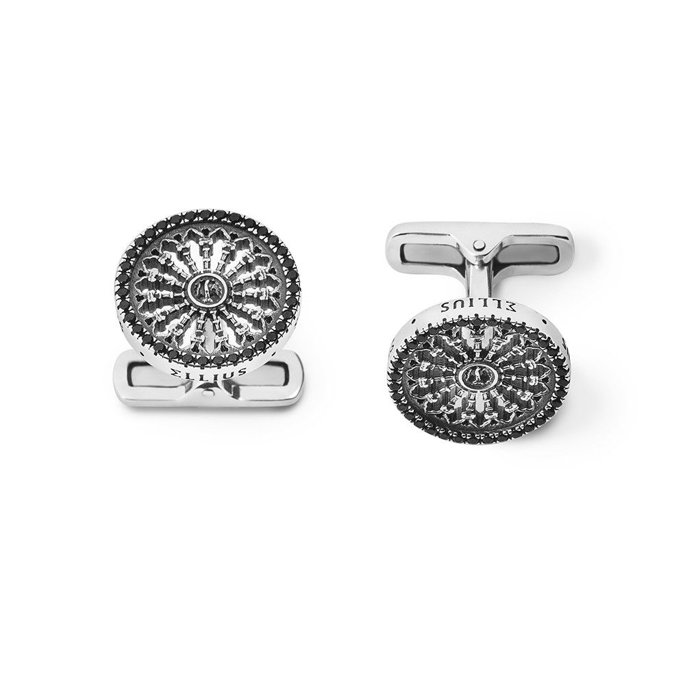 ROSONE S. MARIA ASSUNTA IN SIENA CUFF LINKS ELLIUS Jewelry