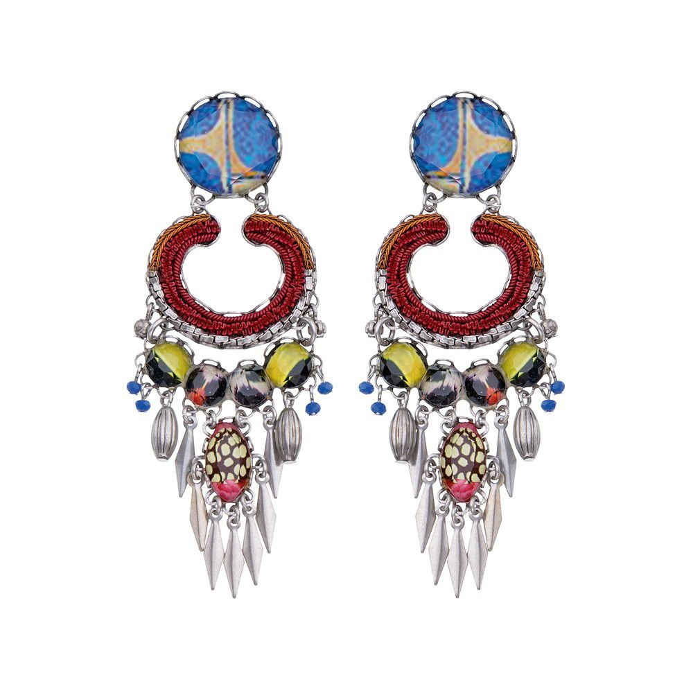 Imagine, Dreamer Earrings Bordeaux AyalaBar