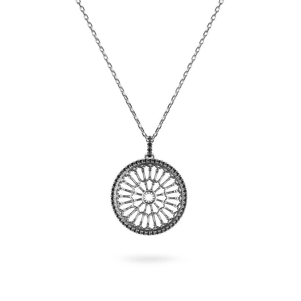 ROSE WINDOW NOTRE-DAME IN PARIS NECKLACE ELLIUS Jewelry