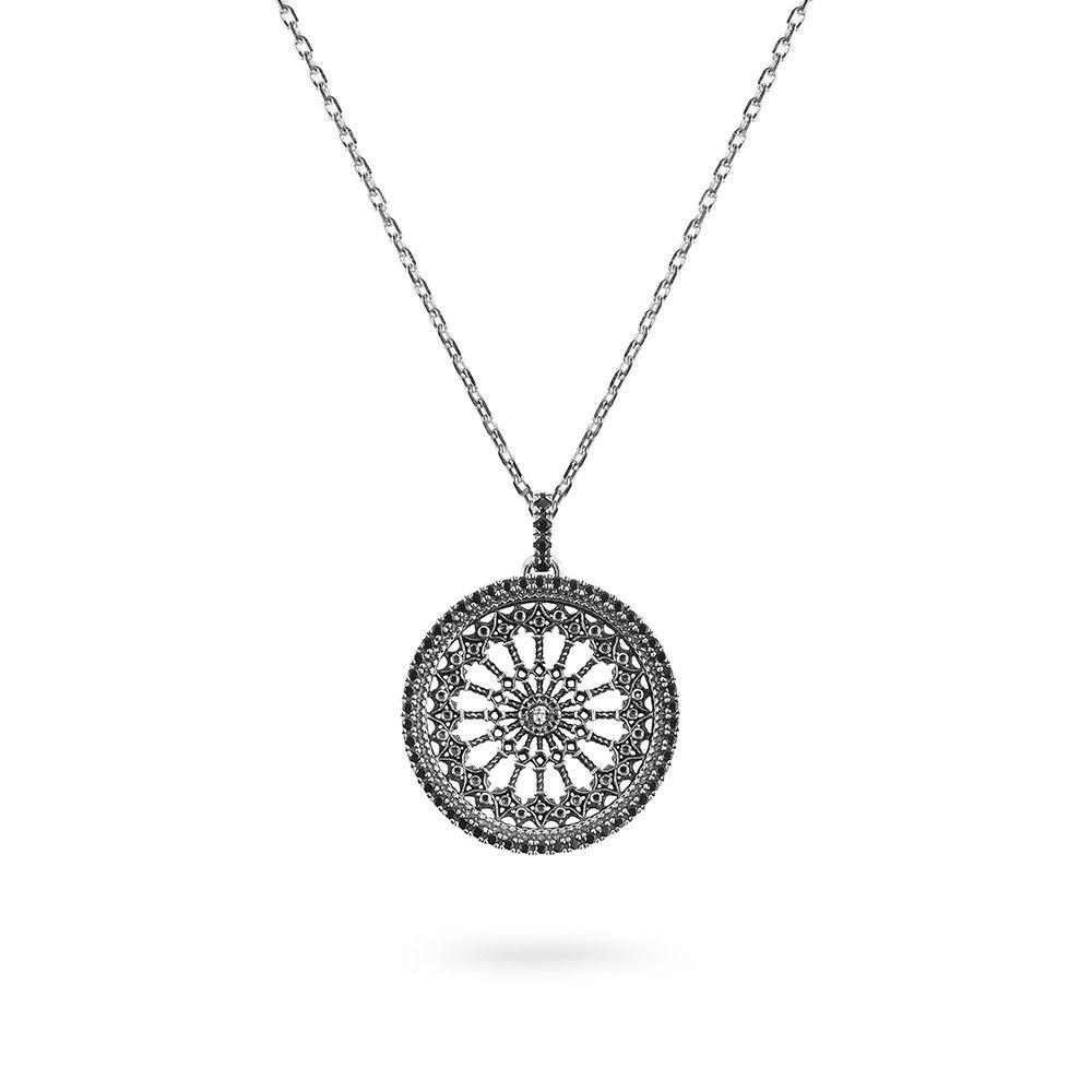 ROSE WINDOW S.MARIA ASSUNTA IN ORVIETO NECKLACE ELLIUS Jewelry