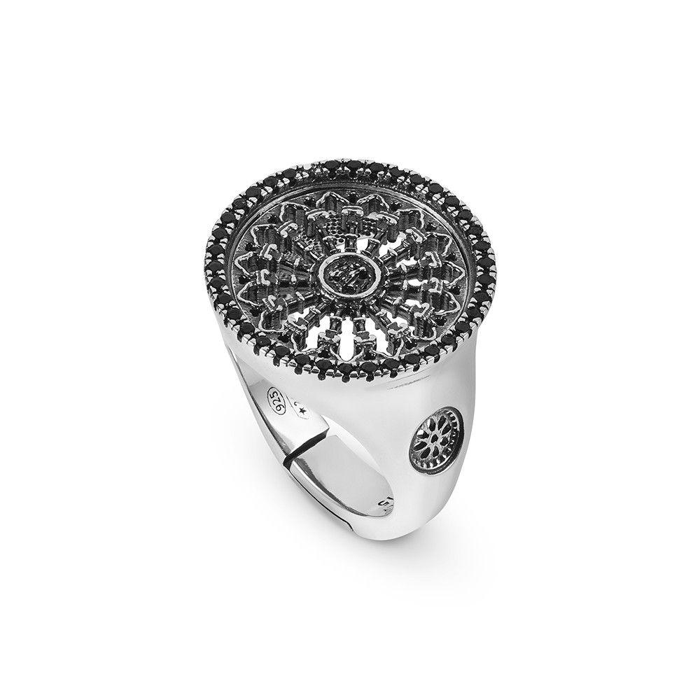 ROSE WINDOW S. MARIA ASSUNTA IN SIENA RING ELLIUS Jewelry