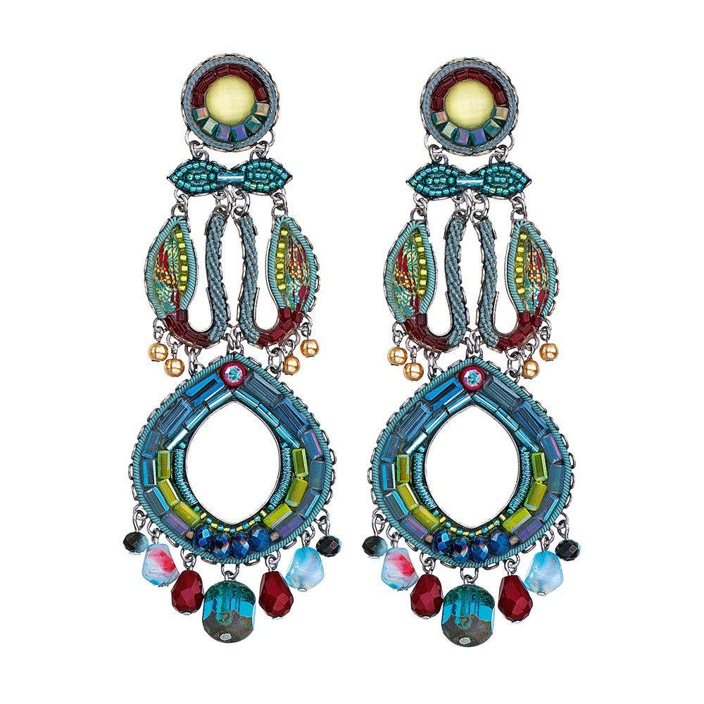 Turquoise Crown, Hanna Limited Edition Earrings Turquoise AyalaBar