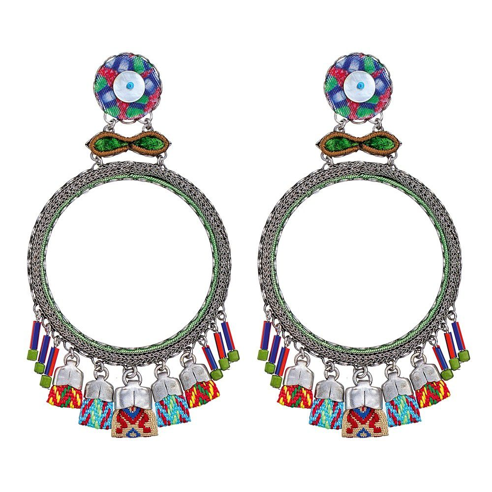 Zen Arcade, Ananda Earrings Green AyalaBar