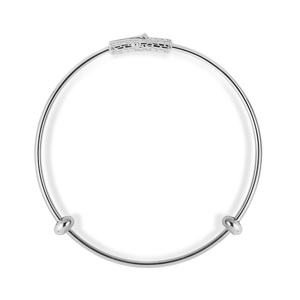 OPUS BRACELET FOR CHARM Silver ELLIUS Jewelry