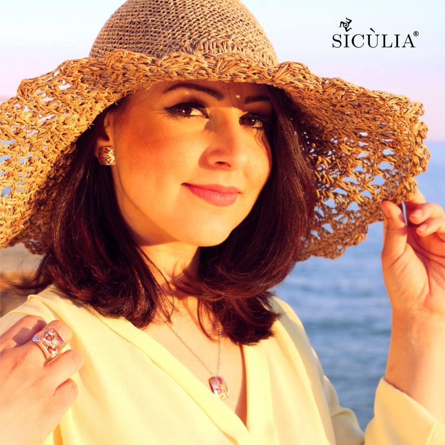 TRINACRIA SICULIA RING Silver Sicùlia Gioielli