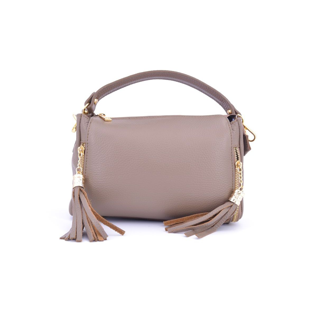 NASSELS BAG Taupe BRASS Selection