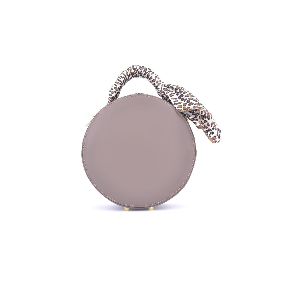 TAUPE ROUND BAG Taupe BRASS Workshop