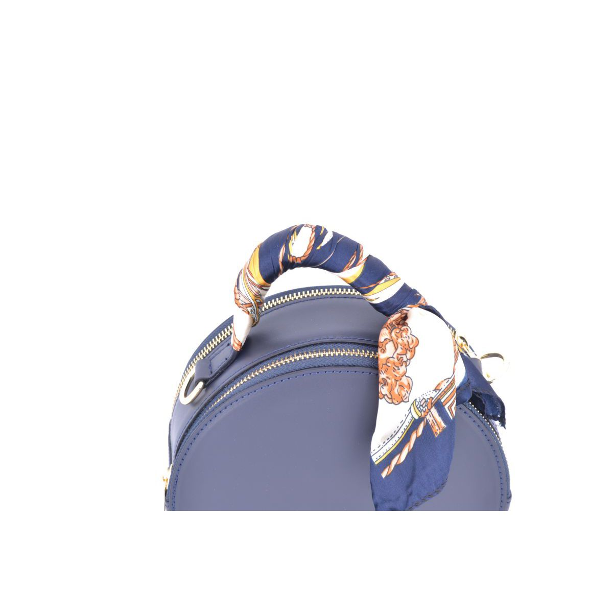 BLU ROUND BAG Blue BRASS Selection