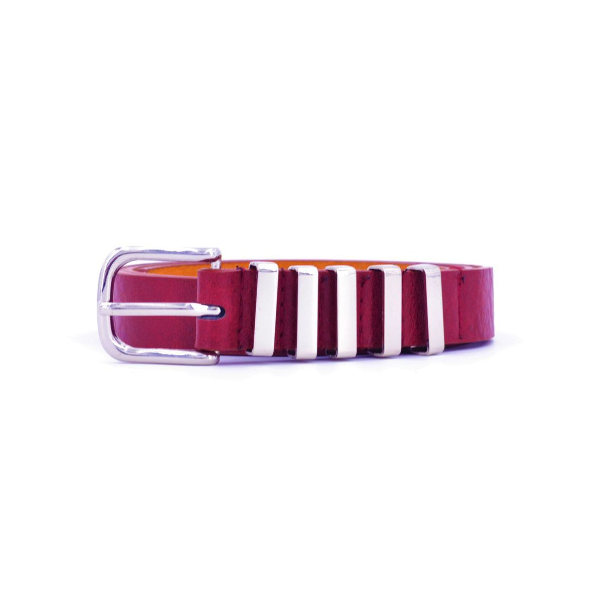 BURGUNDY 5PASS BELT Burgundy BRASS Workshop