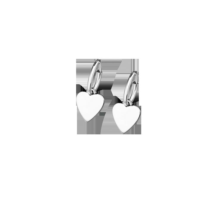 HEART EARRINGS LP1752/4/1 Silver LOTUS Silver